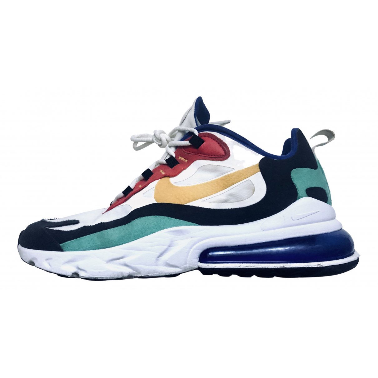 Nike Air Max 270  Sneakers in  Weiss Leinen