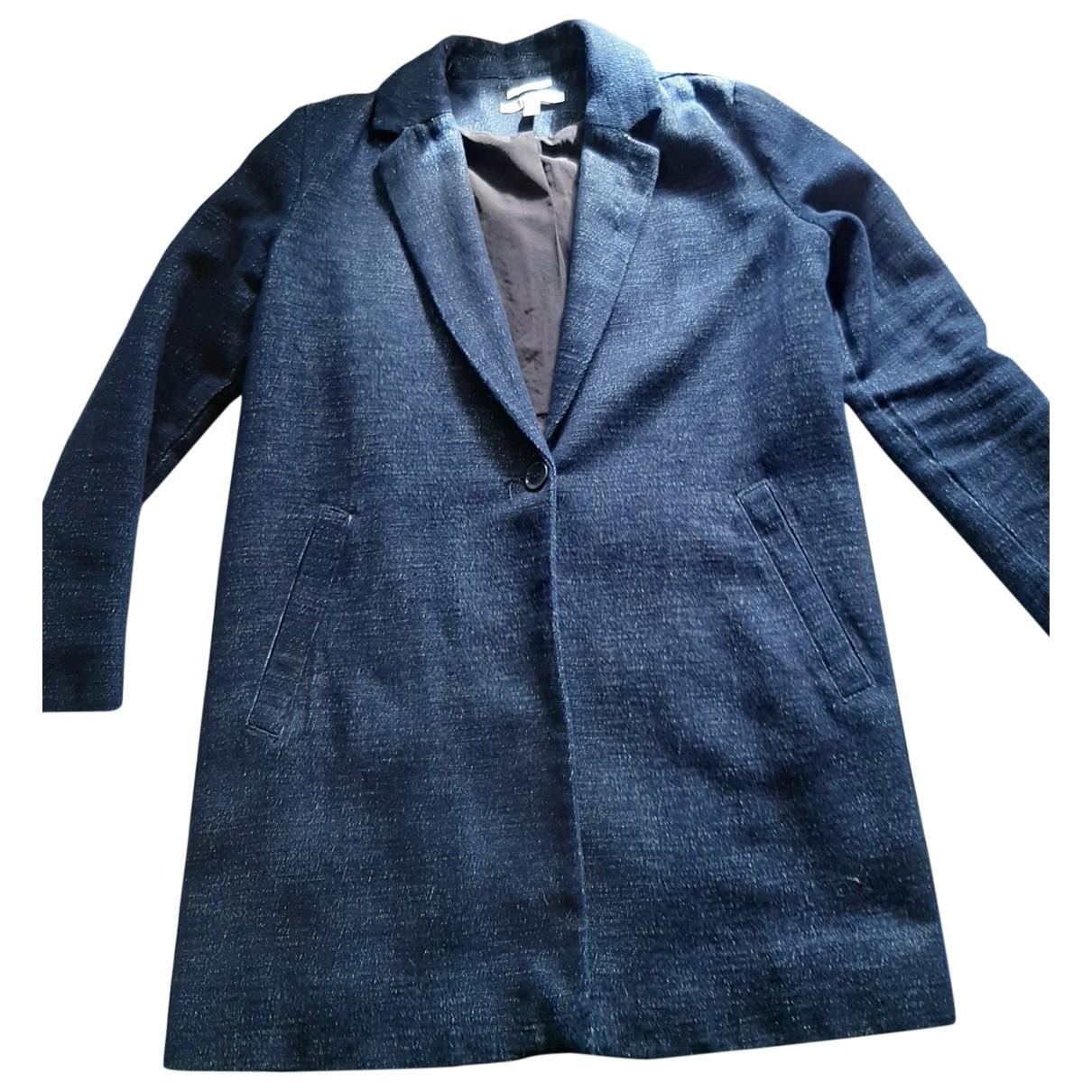Zara \N Blue Denim - Jeans coat for Women M International