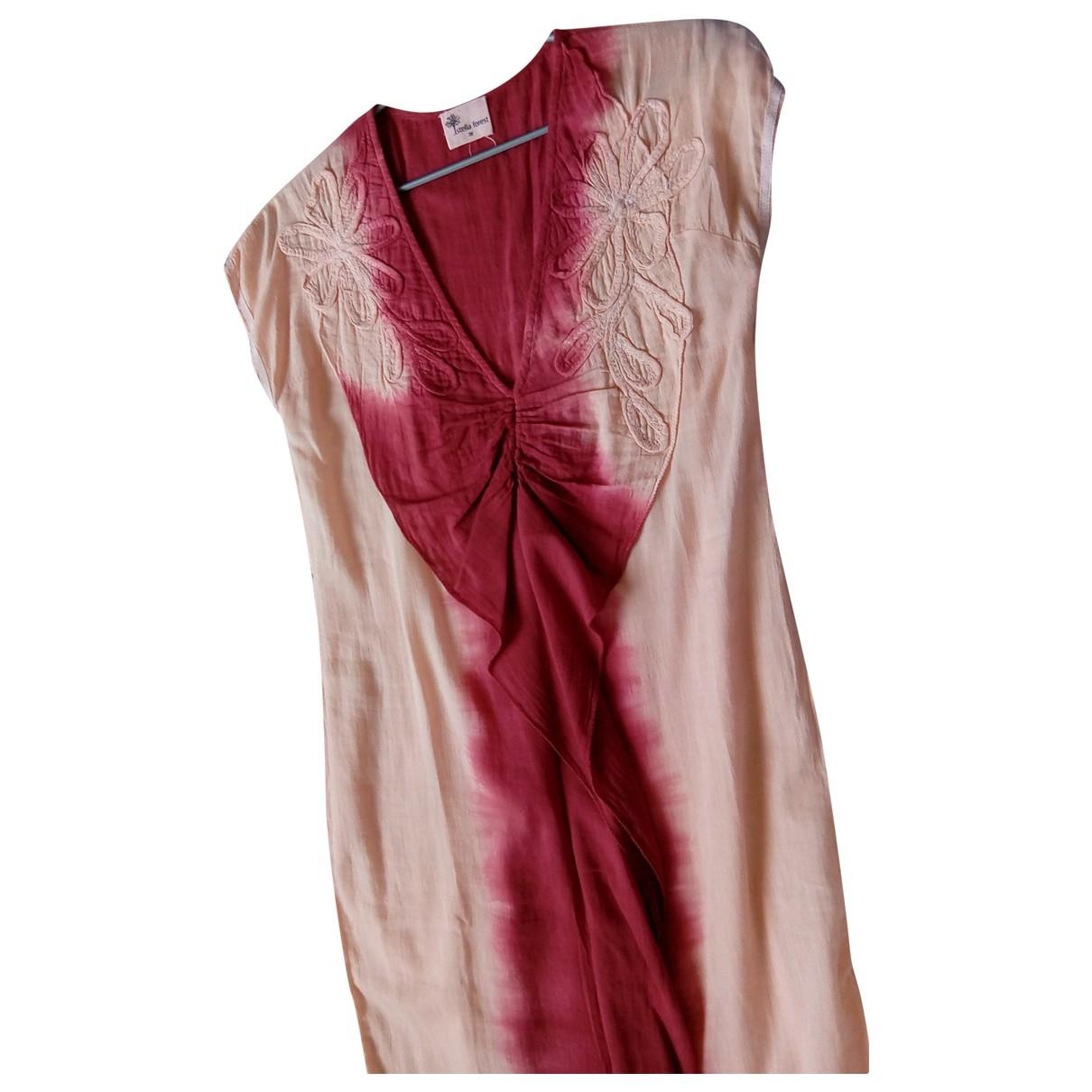 Stella Forest - Robe   pour femme en coton - rose