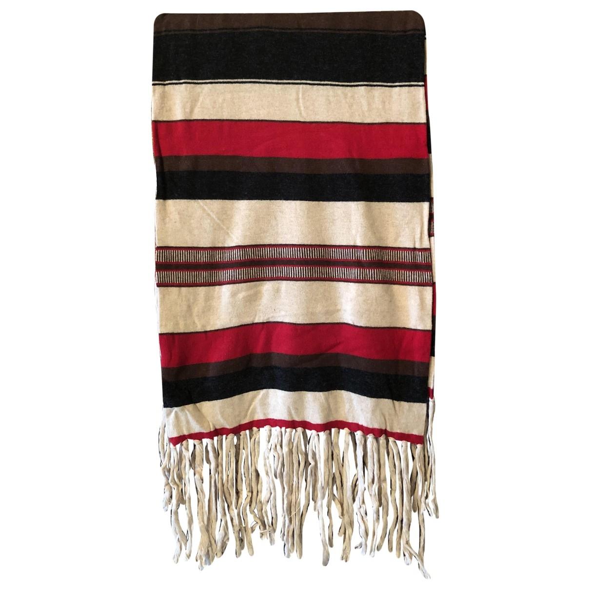 Sandro - Foulard   pour femme en laine - beige