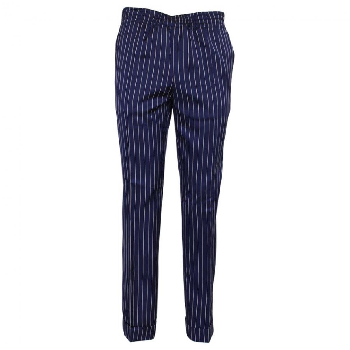 Jean Paul Gaultier \N Cotton Trousers for Women 40 IT