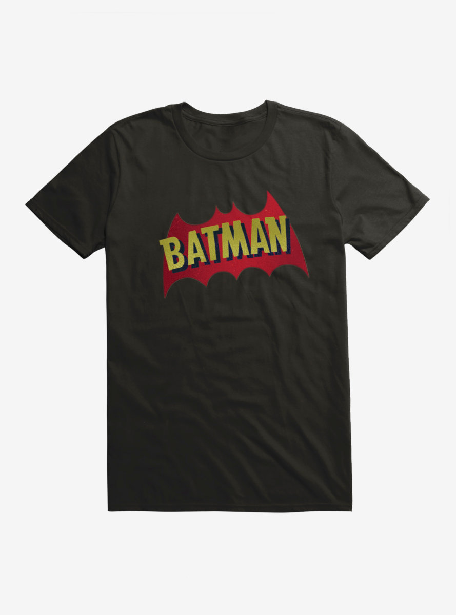DC Comics Batman Name And Bat Logo T-Shirt