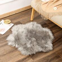 Plain Faux Fur Carpet
