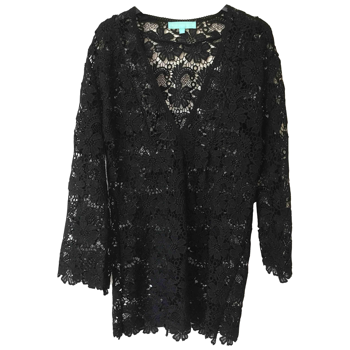 Melissa Odabash - Robe   pour femme en coton - noir