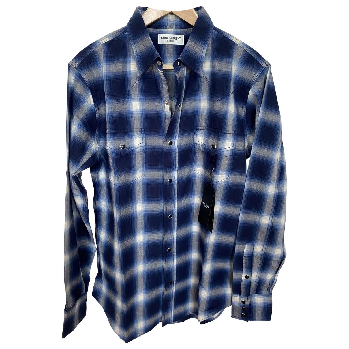 Saint Laurent - Chemises   pour homme en coton - multicolore