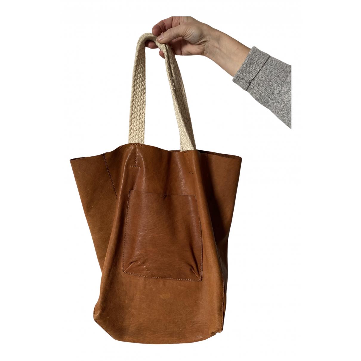 Bellerose \N Handtasche in  Kamel Leder