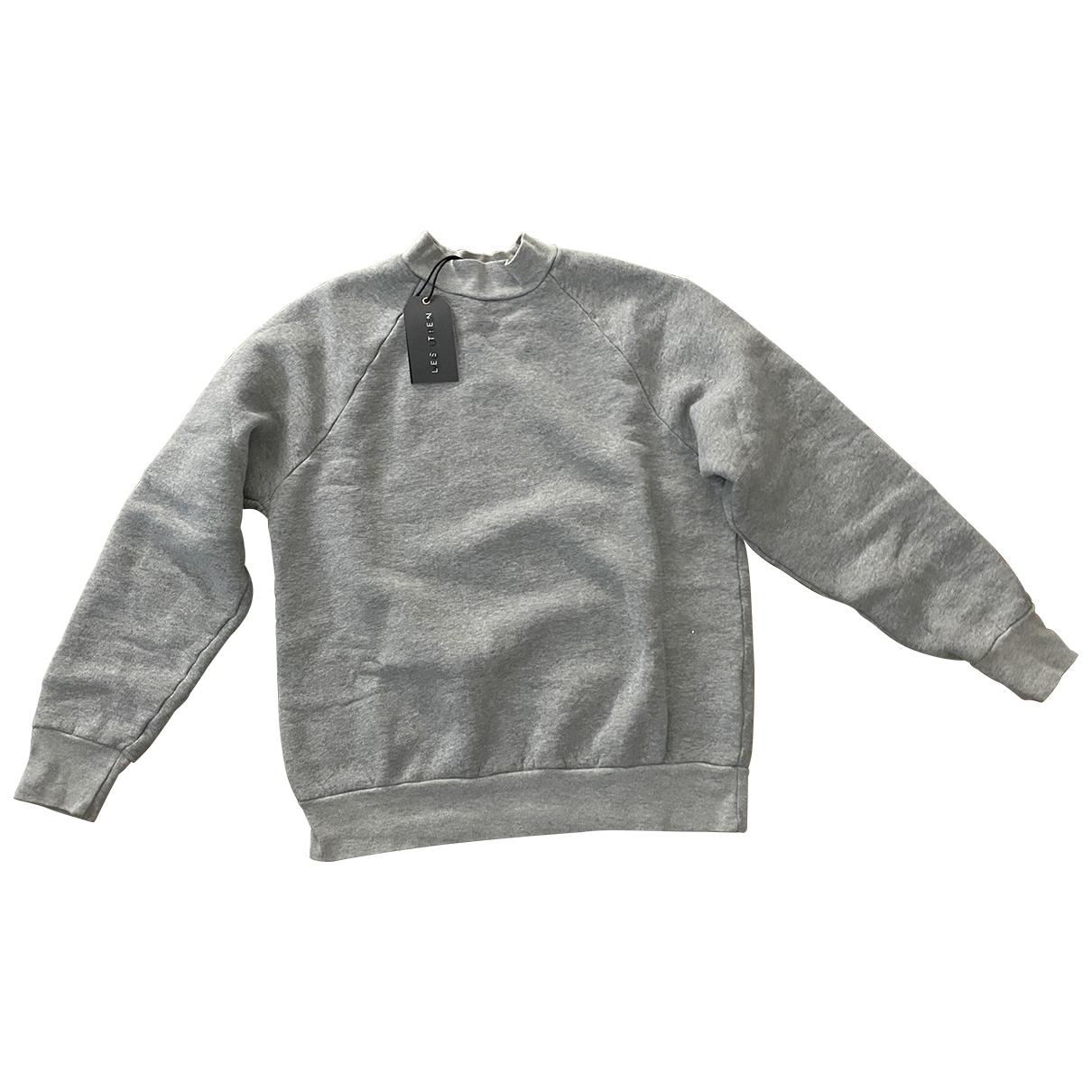 Les Tien \N Pullover in  Grau Baumwolle