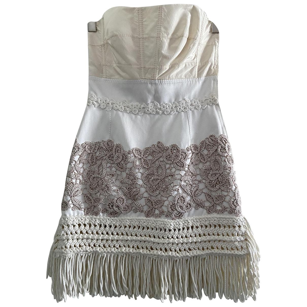 Louis Vuitton - Robe   pour femme en coton - beige
