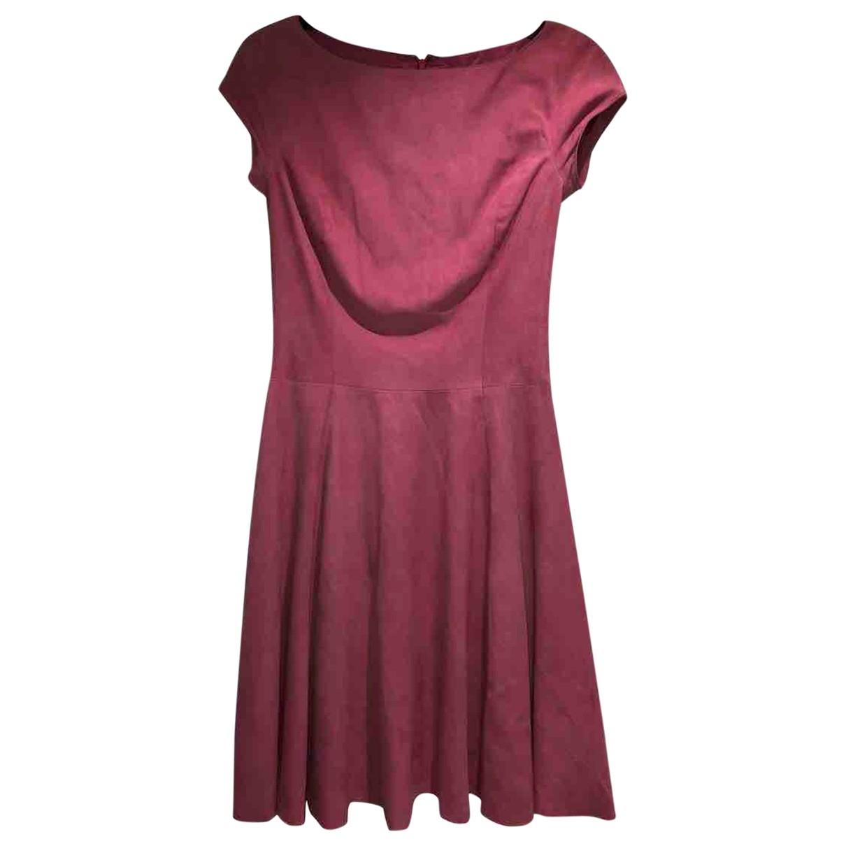 Ralph Lauren \N Kleid in  Rosa Veloursleder