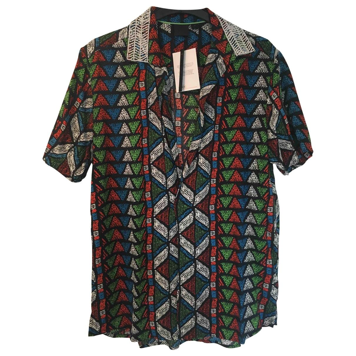 Asos \N Hemden in  Schwarz Baumwolle