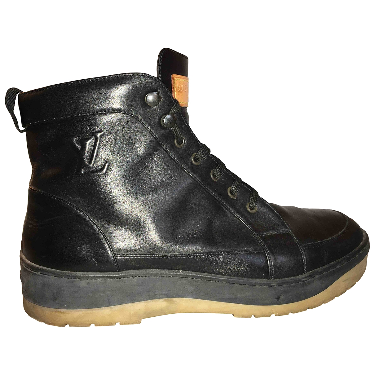 Louis Vuitton \N Black Leather Boots for Men 7.5 UK