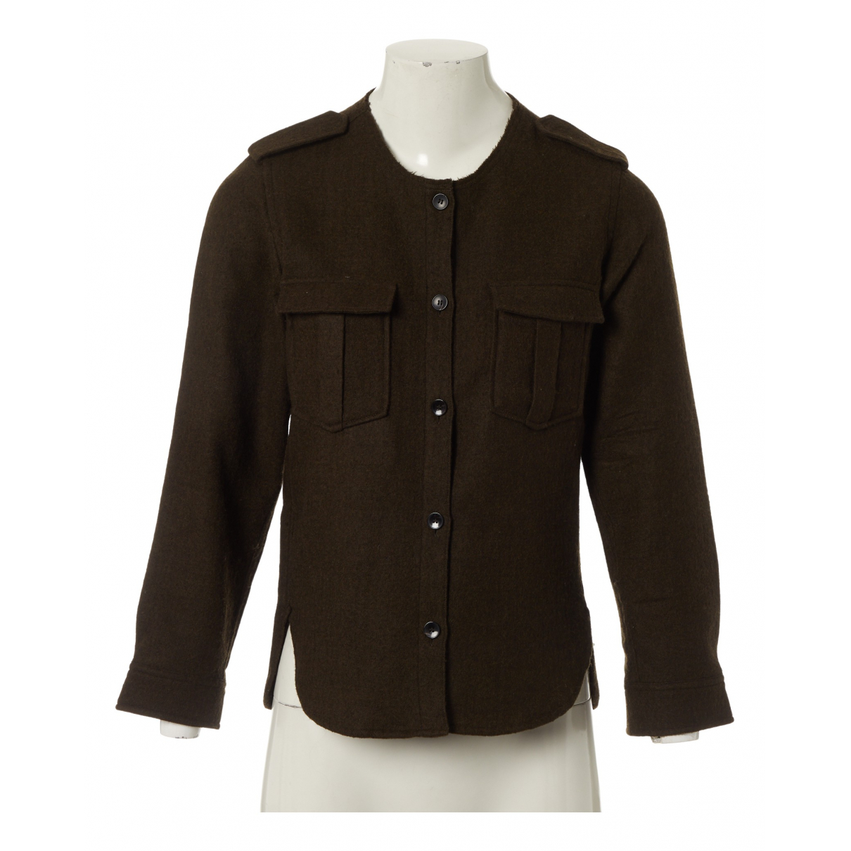 Isabel Marant \N Brown Wool jacket for Women 36 FR