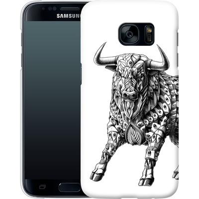 Samsung Galaxy S7 Smartphone Huelle - Raging Bull von BIOWORKZ