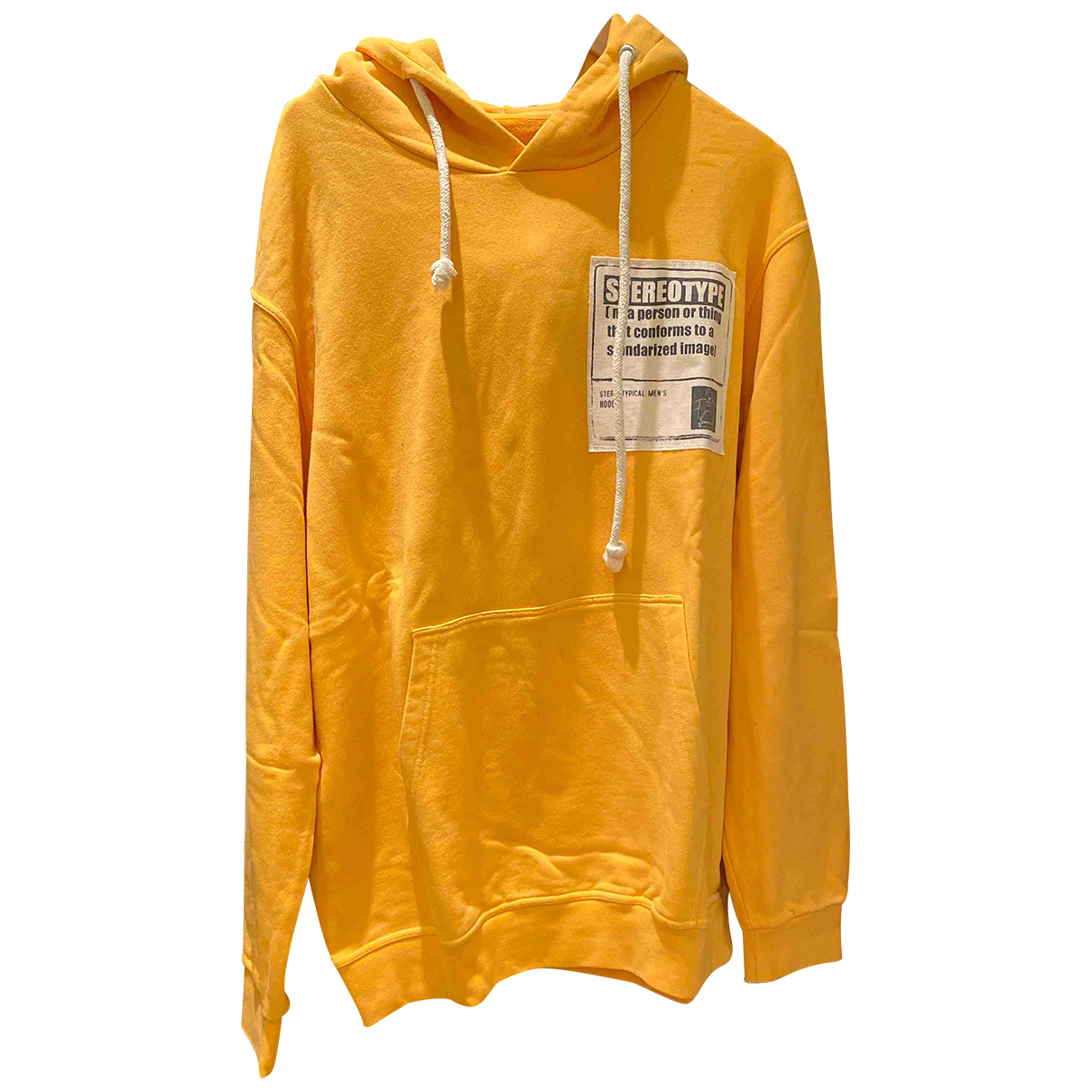 Maison Martin Margiela N Yellow Cotton Knitwear & Sweatshirts for Men 54 IT