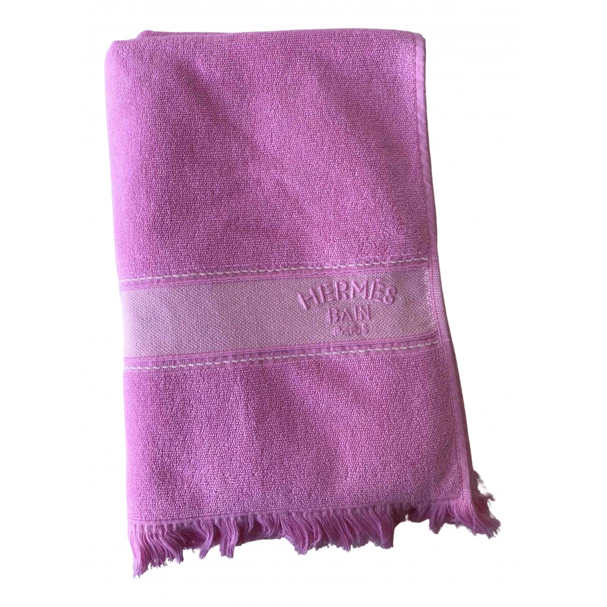Hermes - Linge de maison   pour lifestyle en coton - rose
