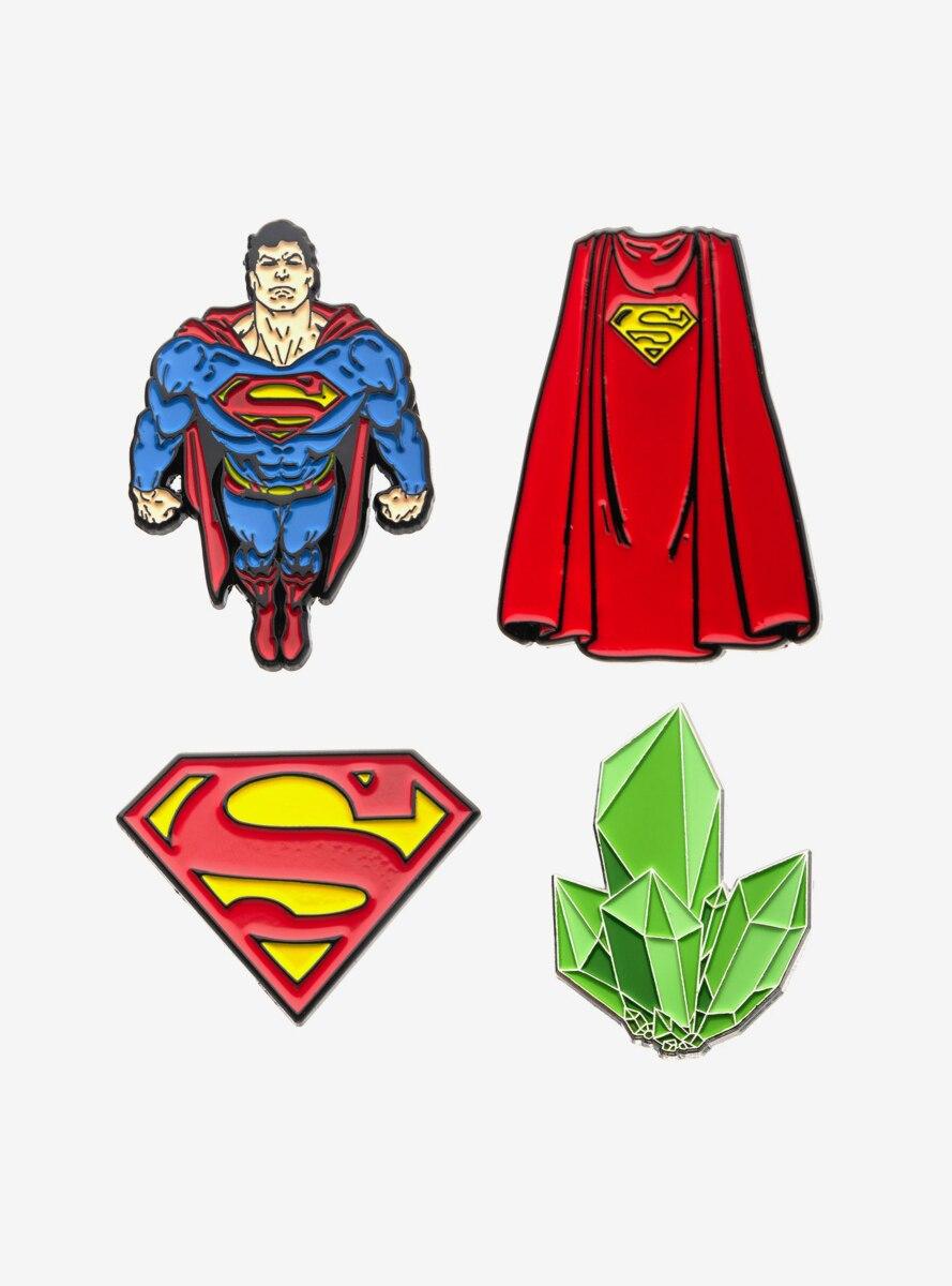 DC Comics Superman Enamel Pin Set
