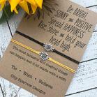 Sunflower Braid Alloy Bracelet - Silver