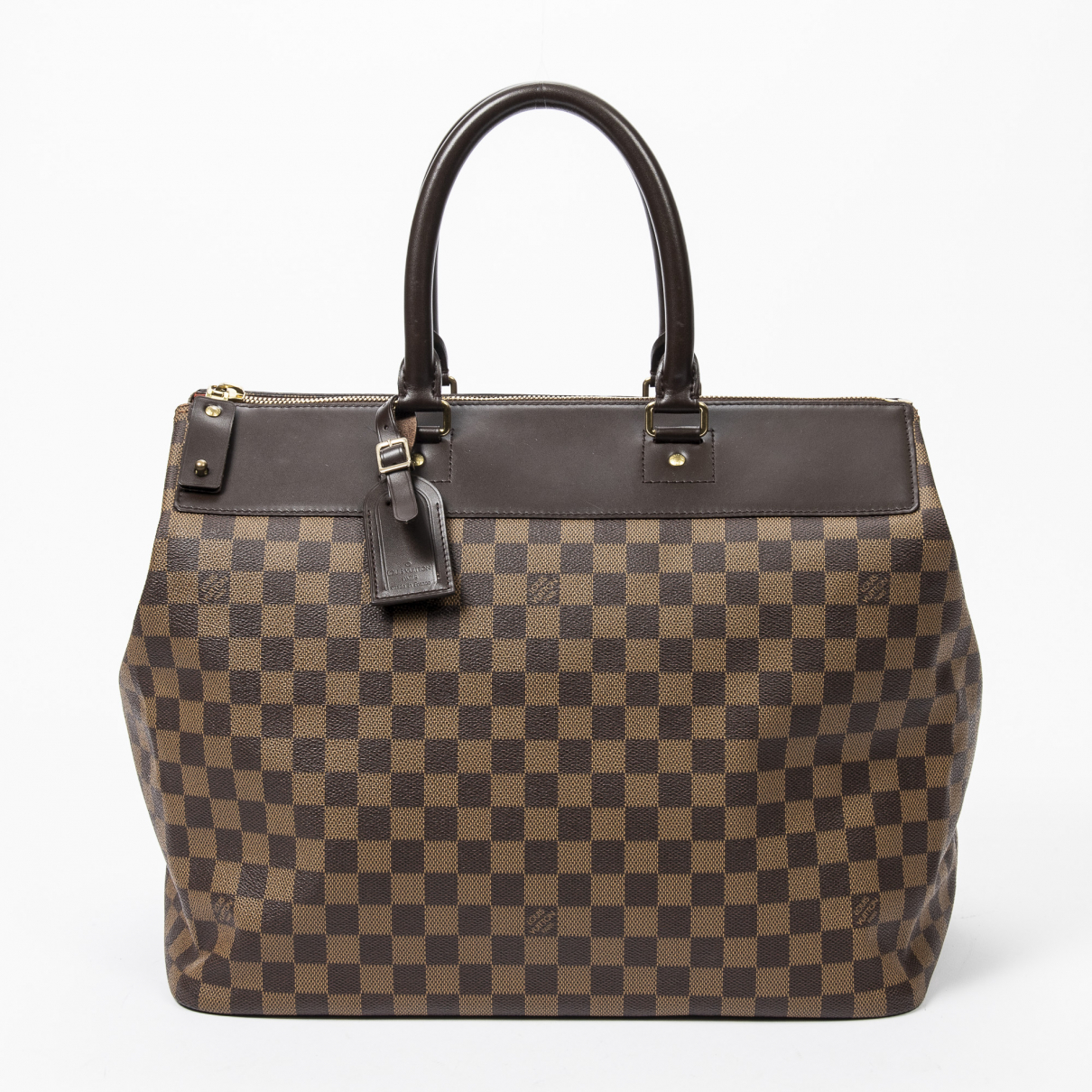 Louis Vuitton Greenwich Brown Leather handbag for Women \N
