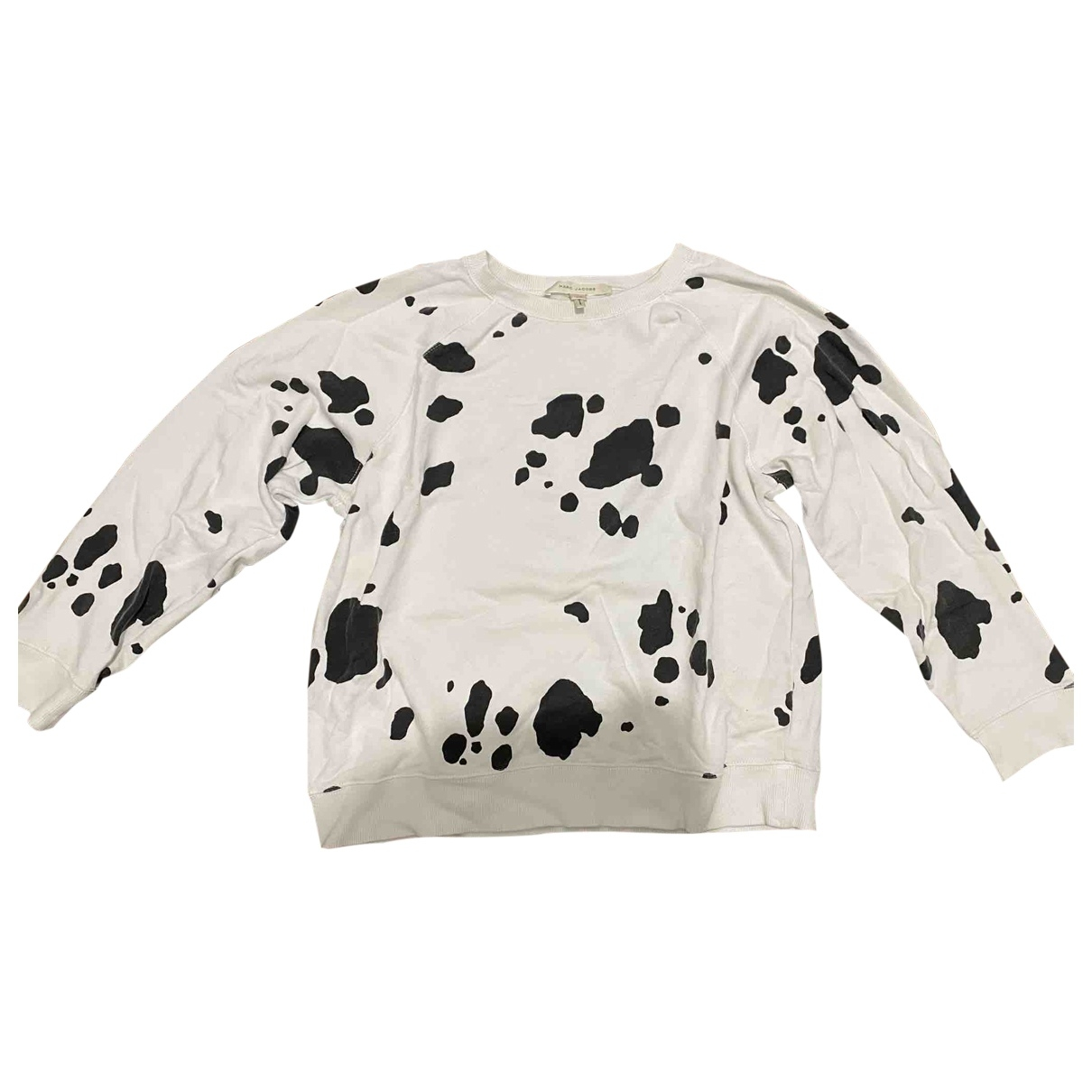 Marc Jacobs \N Pullover in  Weiss Baumwolle