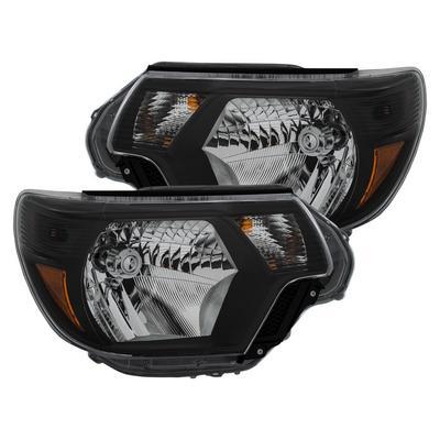 Anzo Crystal Headlights (Black) - 111395
