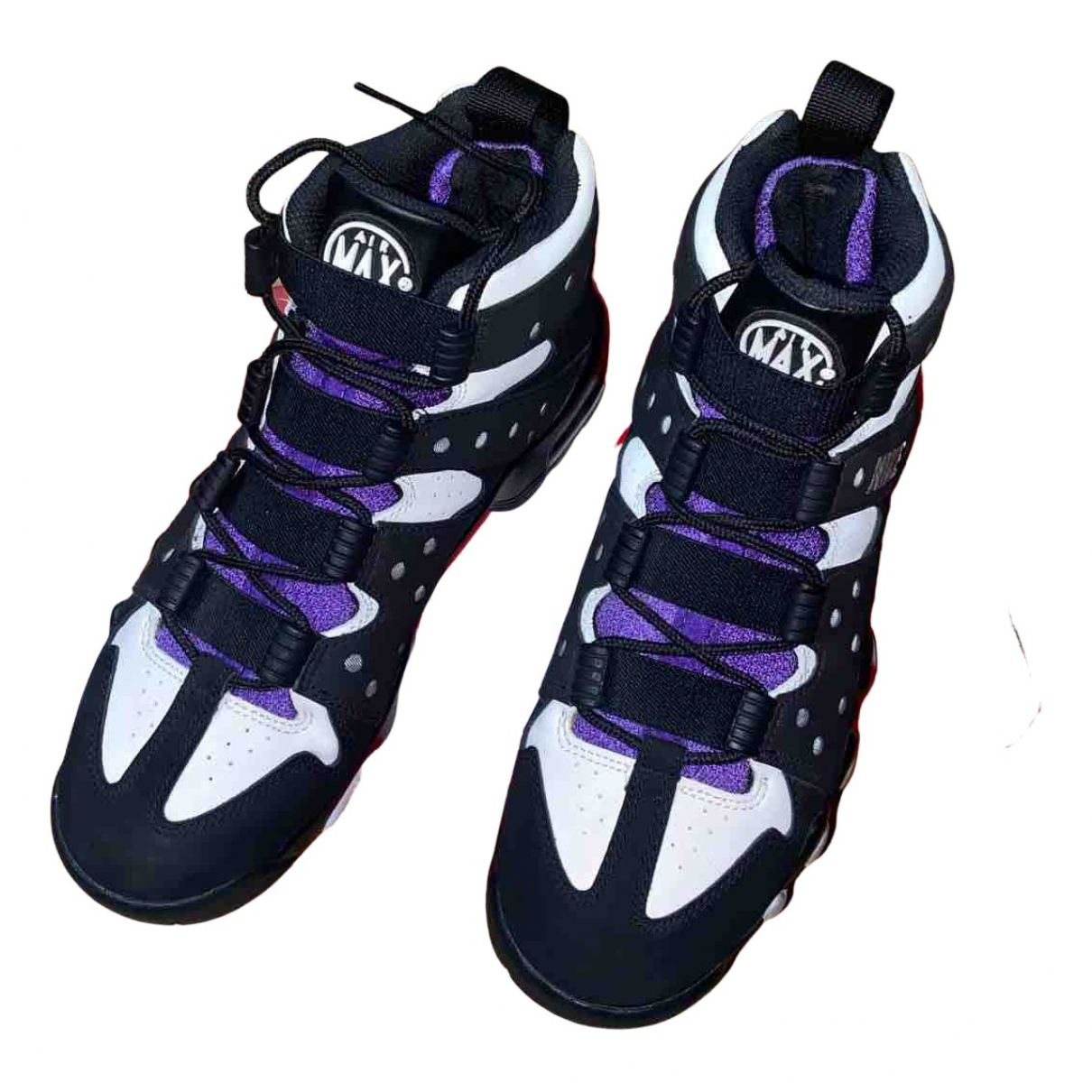 Nike - Baskets Air Max  pour homme en toile - multicolore