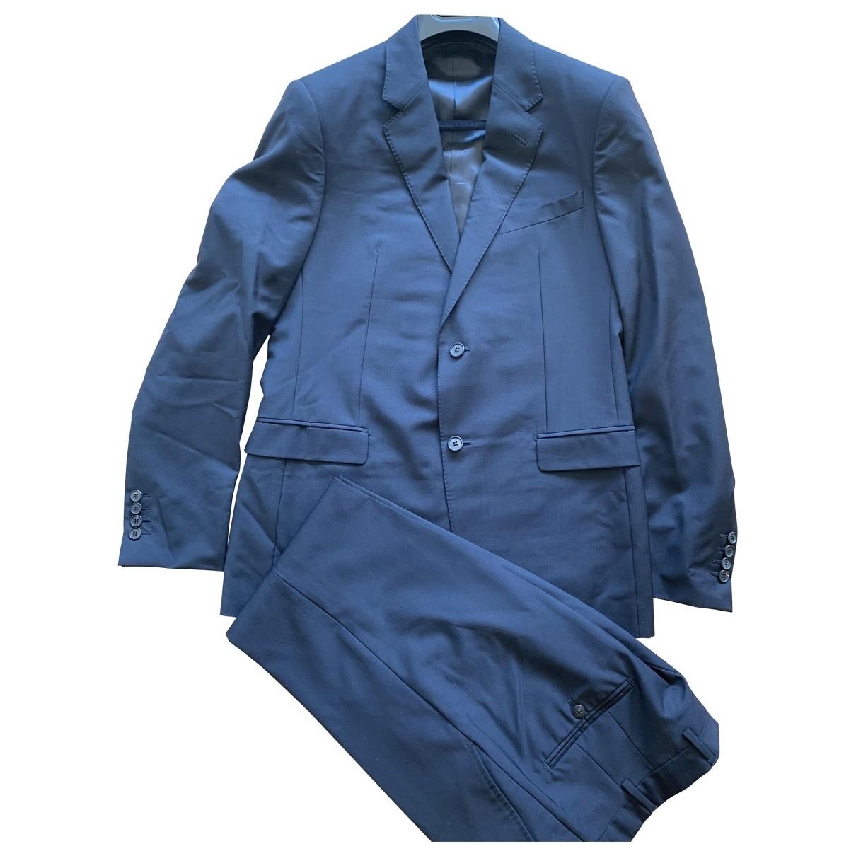 Lanvin \N Anzuege in  Blau Polyester