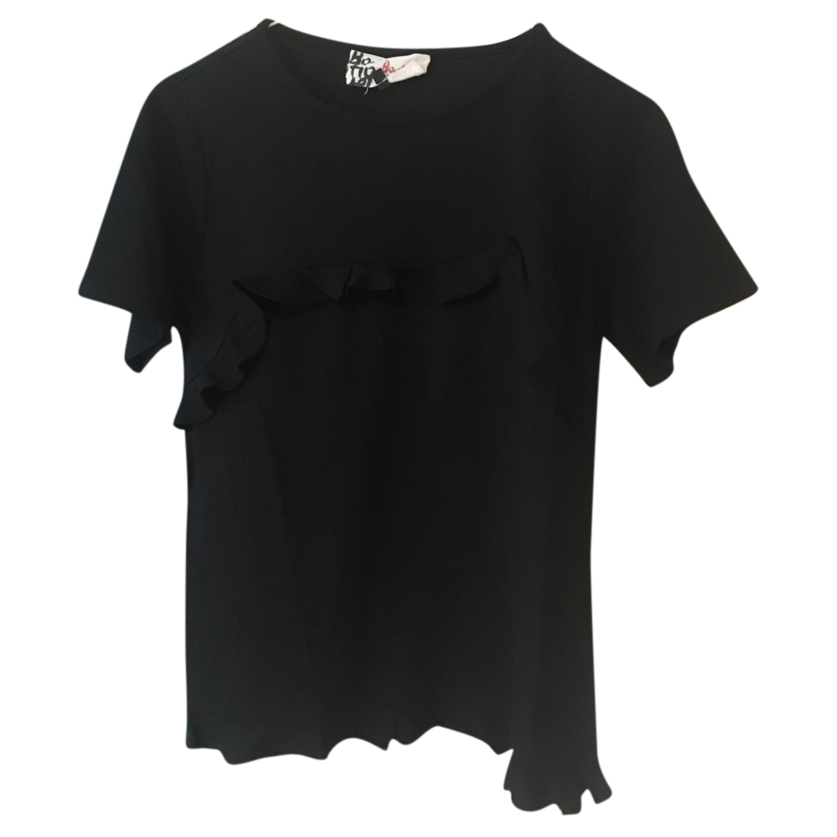 Jaeger N Black Cotton  top for Women S International