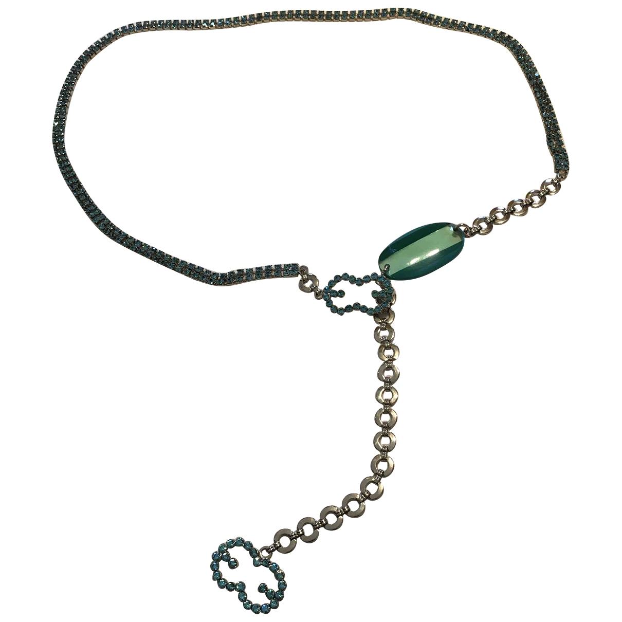 Escada \N Turquoise Metal belt for Women 80 cm
