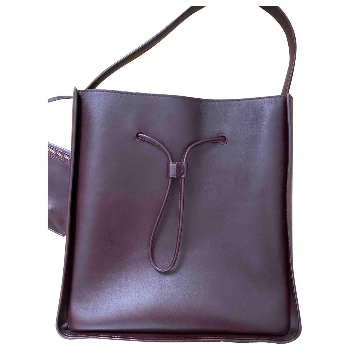 3.1 Phillip Lim \N Handtasche in  Bordeauxrot Leder