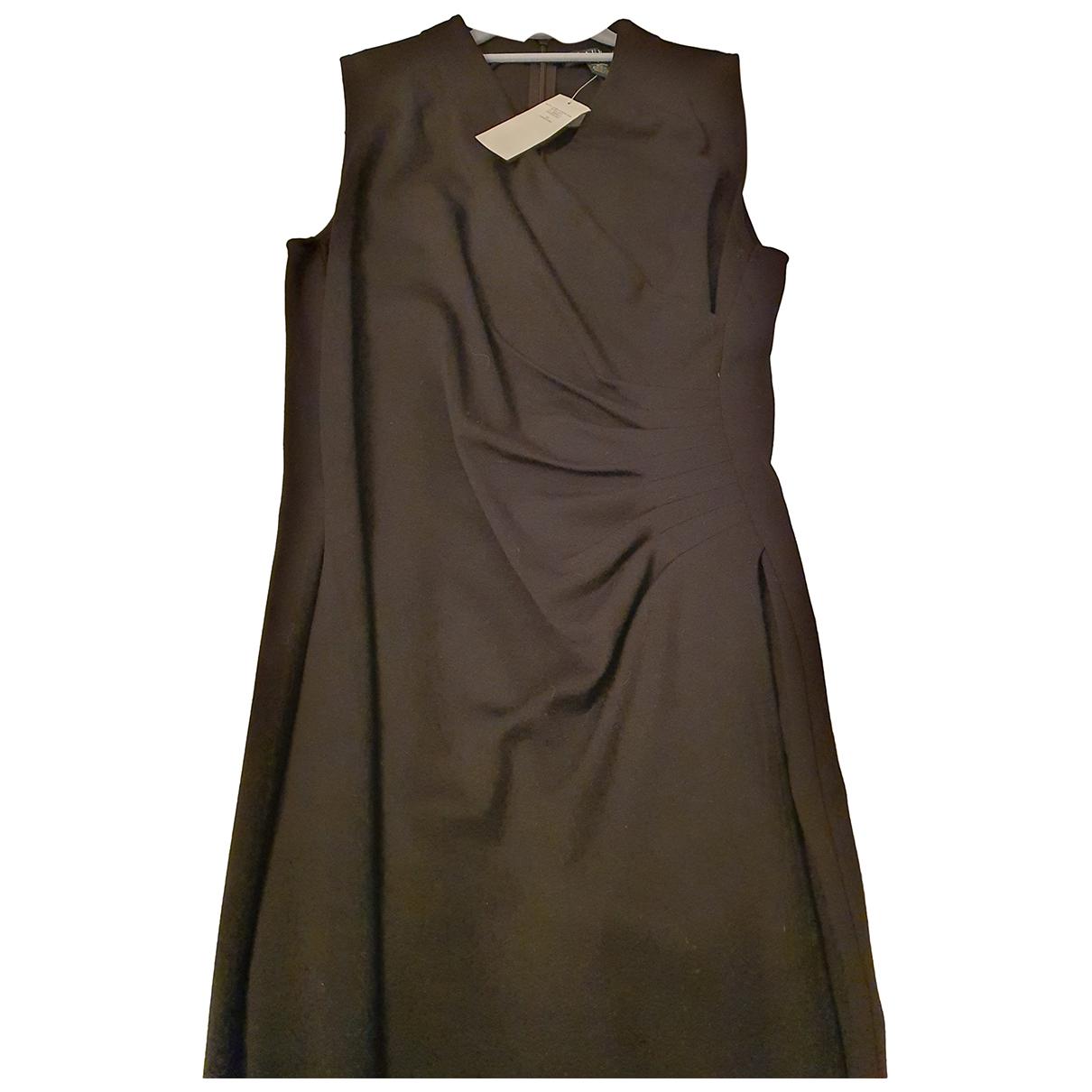 Polo Ralph Lauren \N Kleid in  Schwarz Viskose