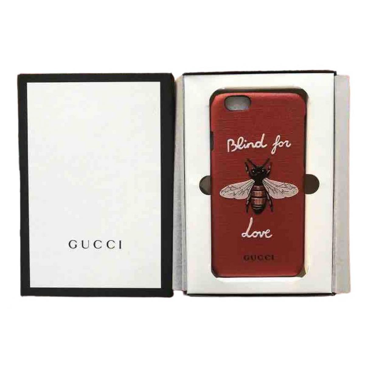 Funda iphone de Cuero Gucci