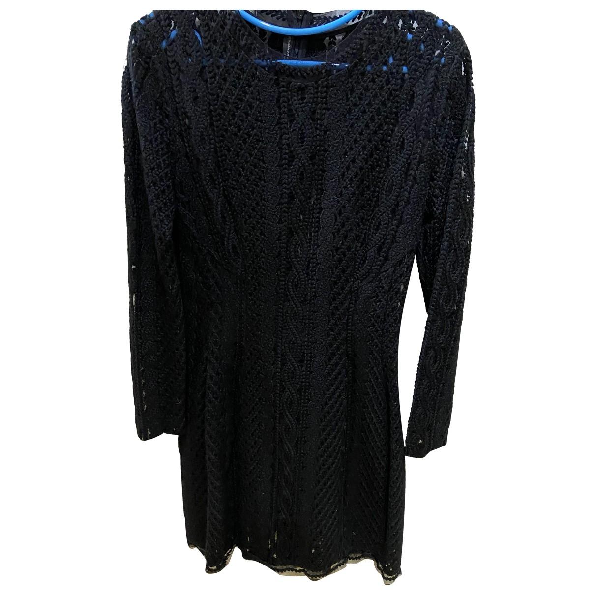Ermanno Scervino \N Black Wool dress for Women 40 IT