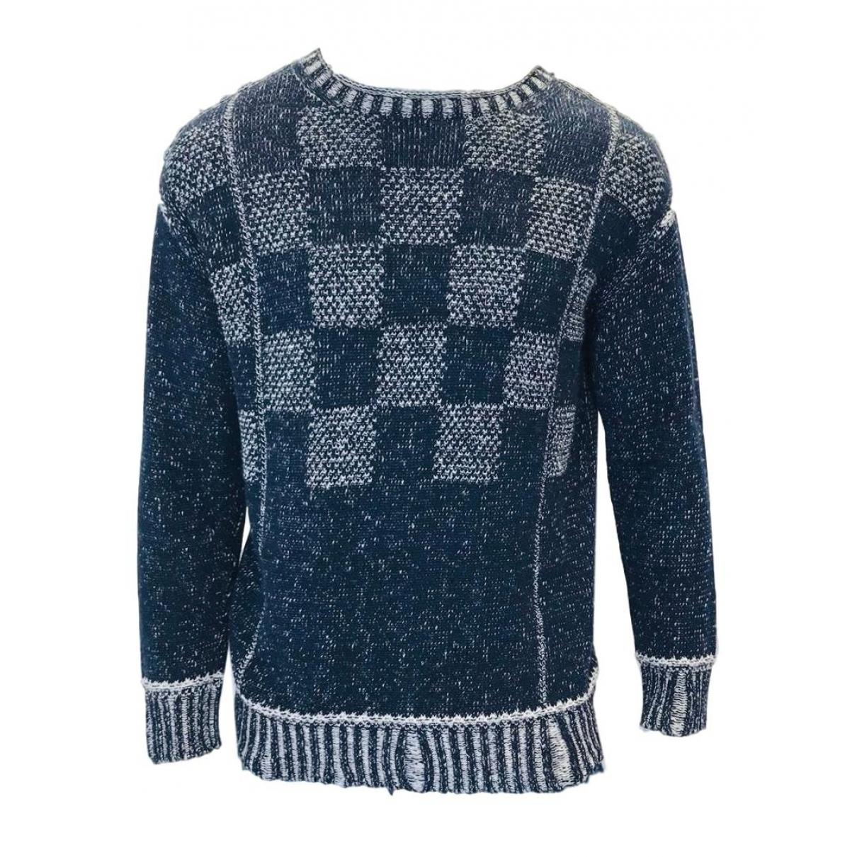 Junya Watanabe \N Pullover.Westen.Sweatshirts  in  Blau Baumwolle