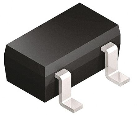 DiodesZetex Diodes Inc Dual, 20V Zener Diode, Common Anode 5% 300 mW SMT 3-Pin SOT-23 (100)