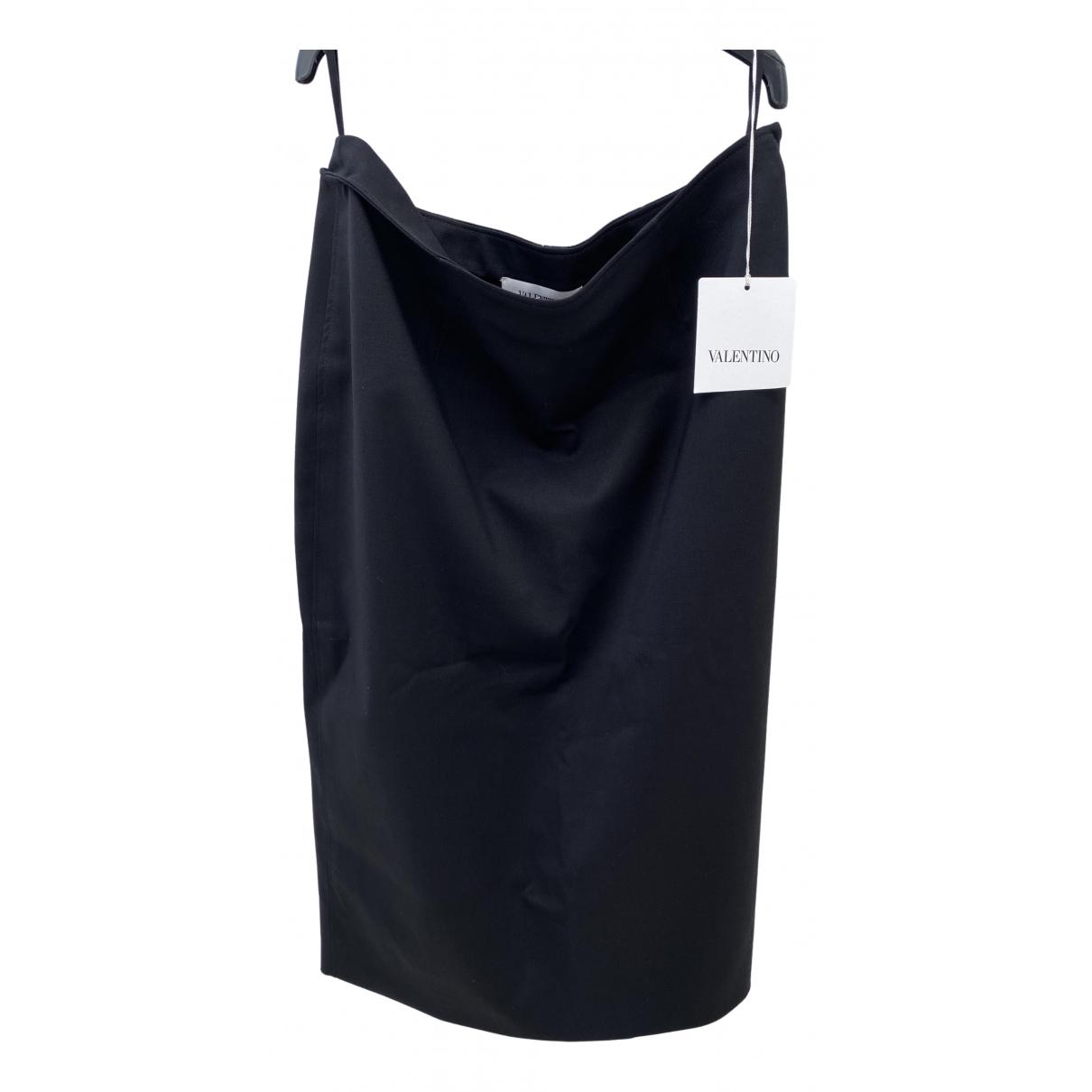 Valentino Garavani - Jupe   pour femme en laine - noir