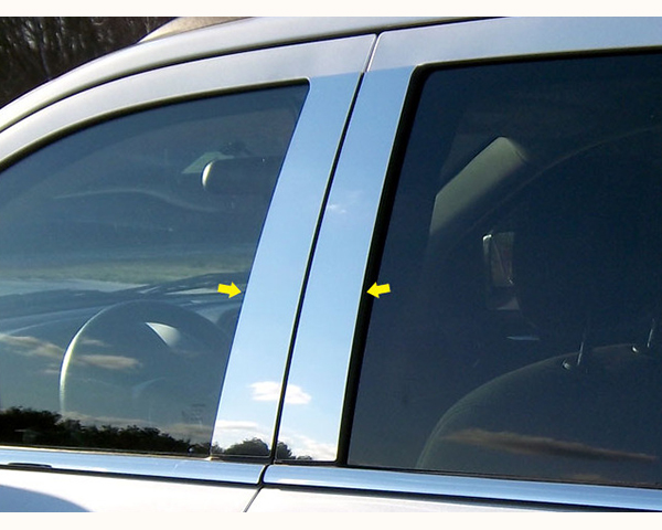 Quality Automotive Accessories 4-Piece Pillar Post Trim Kit Jeep Compass 2013