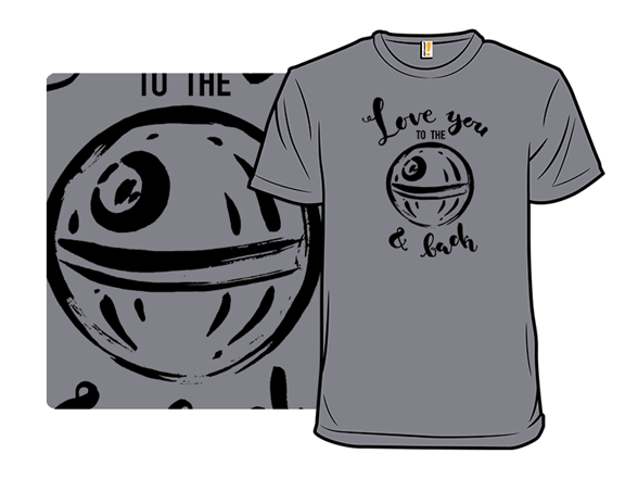 Love You To The Moon T Shirt