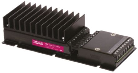 TRACOPOWER TEP 150WI 150W Isolated DC-DC Converter Chassis Mount, Voltage in 9 → 36 V dc, Voltage out 48V dc