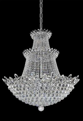 Treviso 021052-010-FR001 35 Pendant in Chrome Finish with Firenze Clear