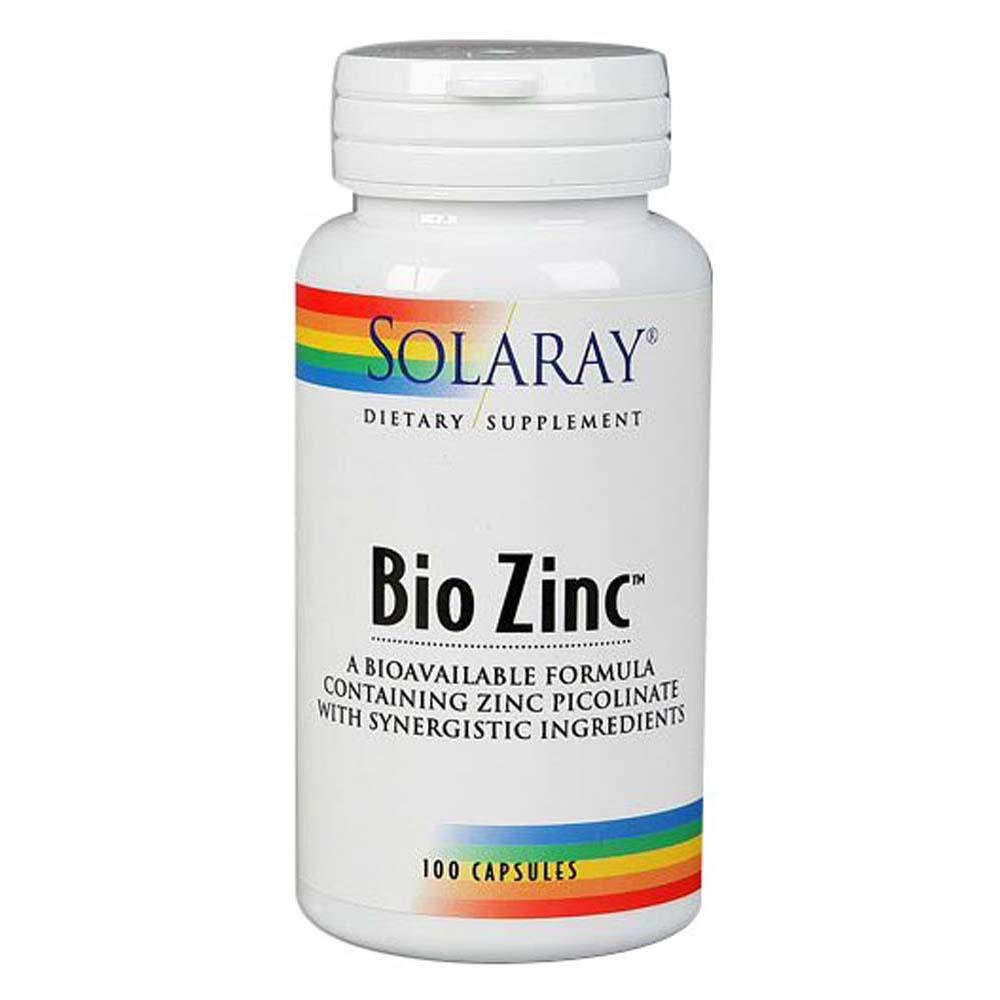Bio Zinc 100 Caps by Solaray
