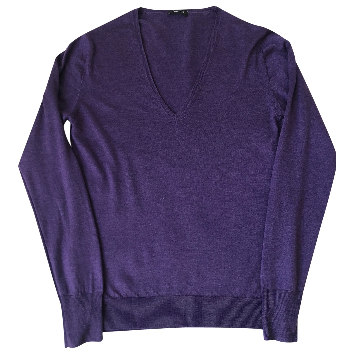Cruciani - Pull   pour femme en cachemire - violet
