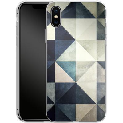 Apple iPhone X Silikon Handyhuelle - Glyzbryks von Spires