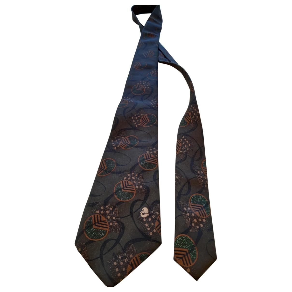 Courreges \N Krawatten in  Braun Seide