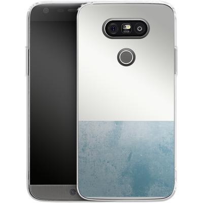 LG G5 Silikon Handyhuelle - Colour Block Blue von caseable Designs