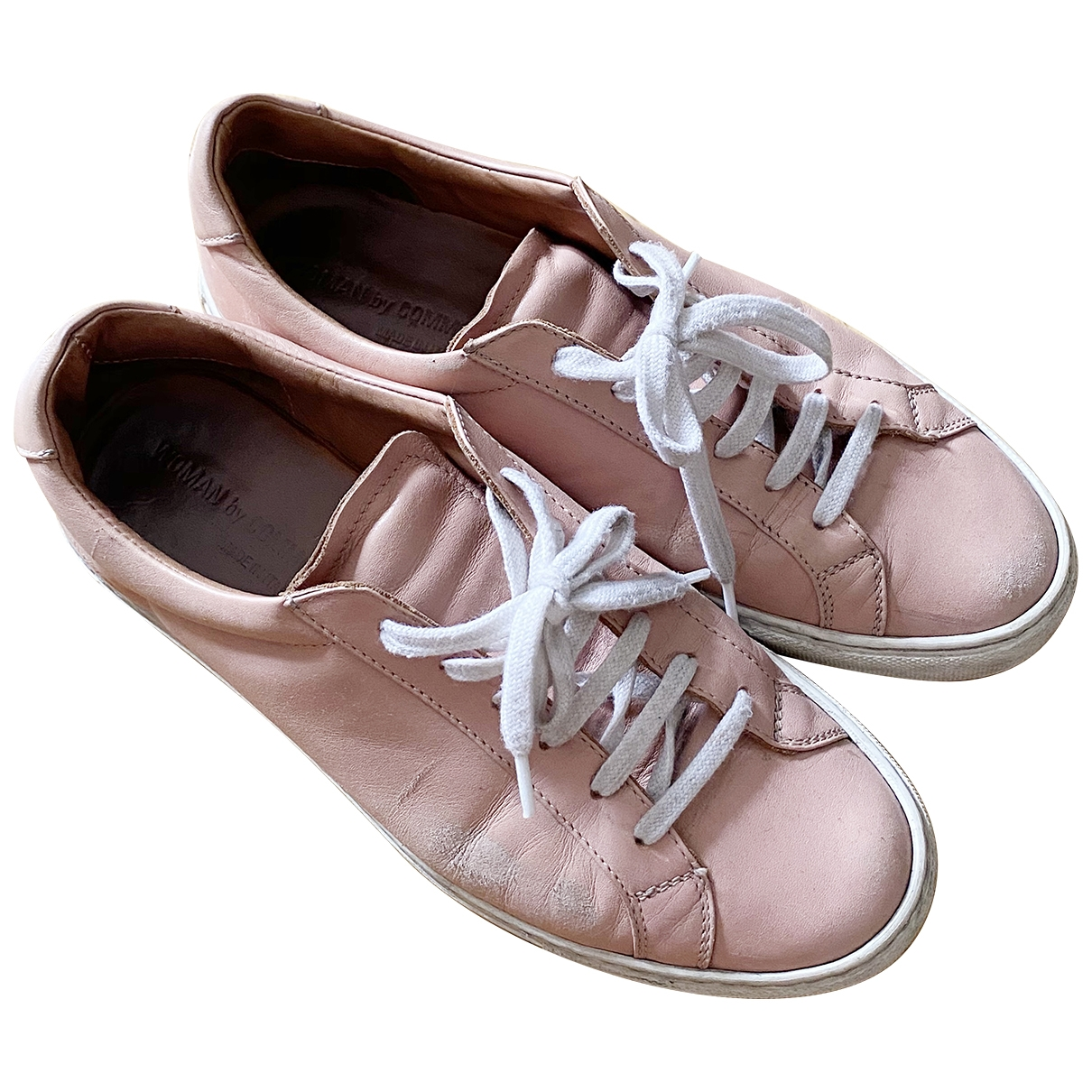 Common Projects \N Pink Leather Trainers for Women 37 EU