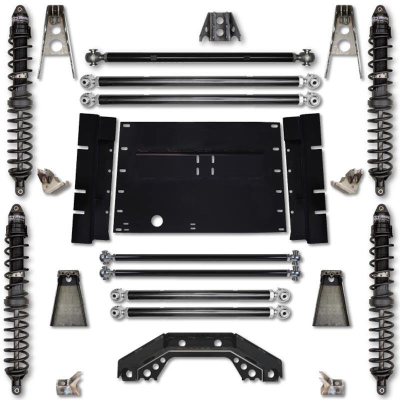 Rock Krawler TJ55TR-02S1 TJ 5.5 Inch Trail Runner Stg 1 Coilover Long Arm Lift Kit 03-06 Wrangler