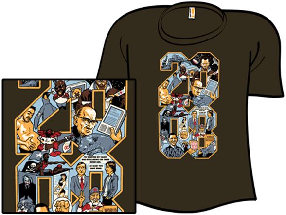 2008: A Shirt Odyssey T Shirt