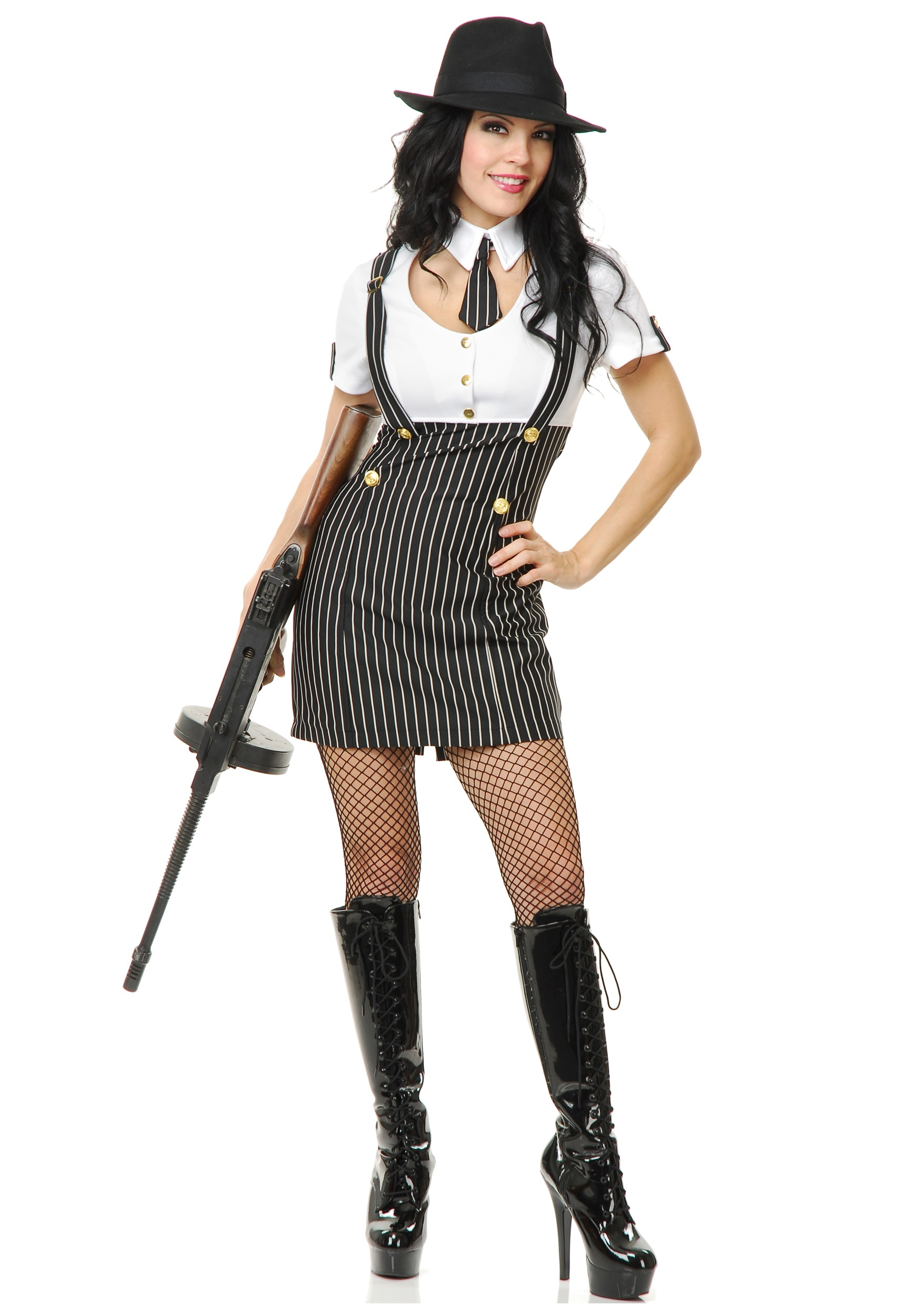 Gangster Girl Costume - Mobster Costumes for Women