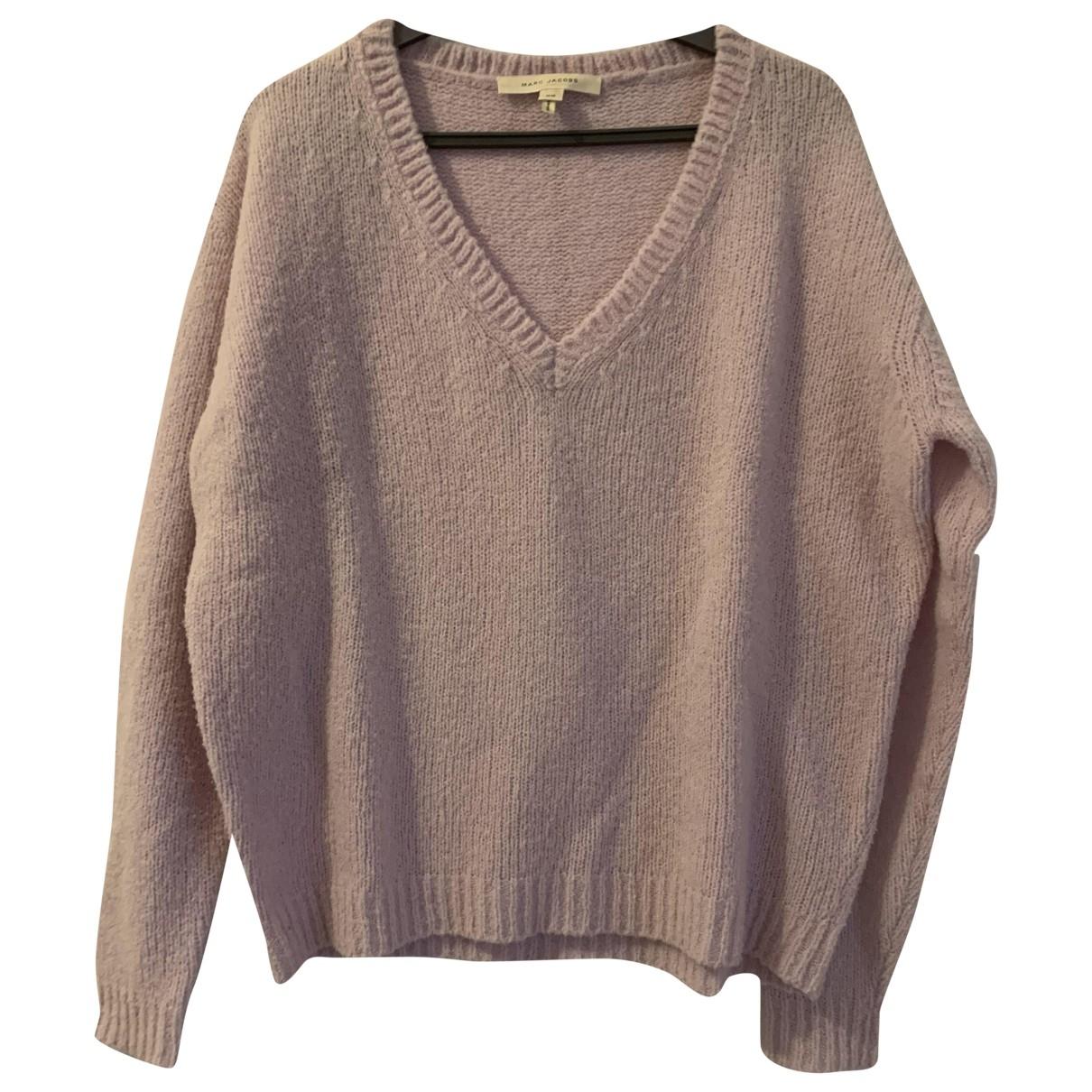 Marc Jacobs - Pull   pour femme en laine - violet