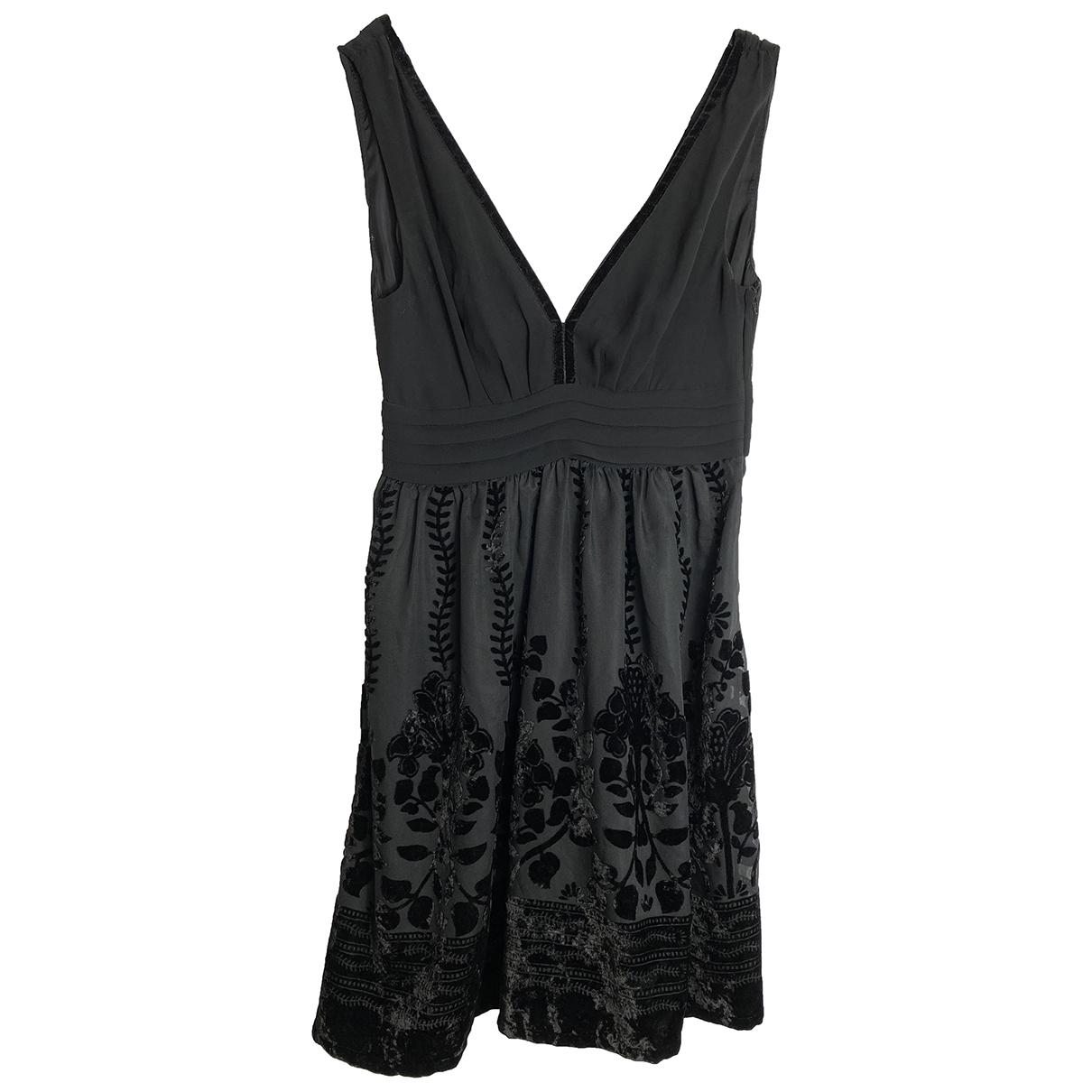 Hm Conscious Exclusive \N Kleid in  Schwarz Polyester